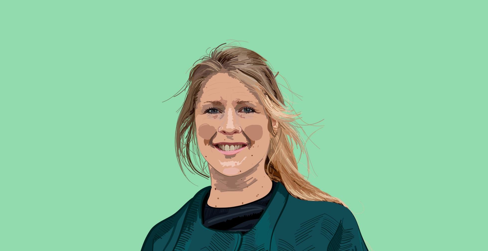 Yvette (37): 'Financiële opvoeding vind ik heel belangrijk.'