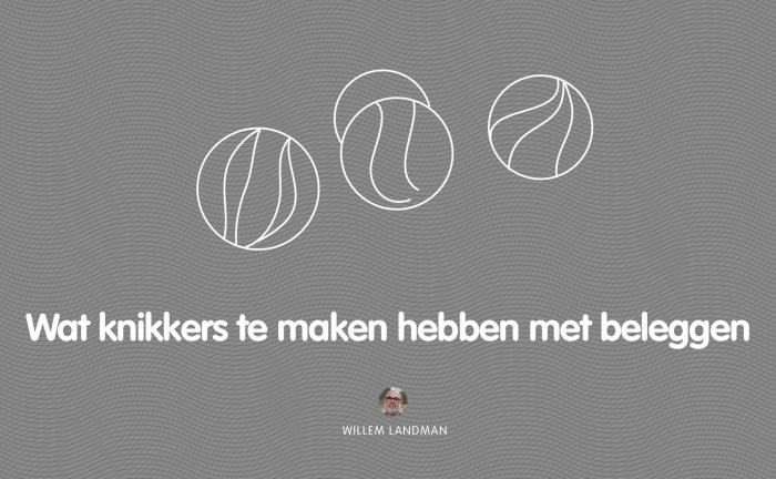 Spel en de knikkers - Willem Landman