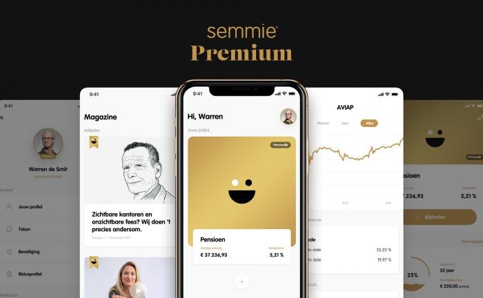 Semmie lanceert Premium