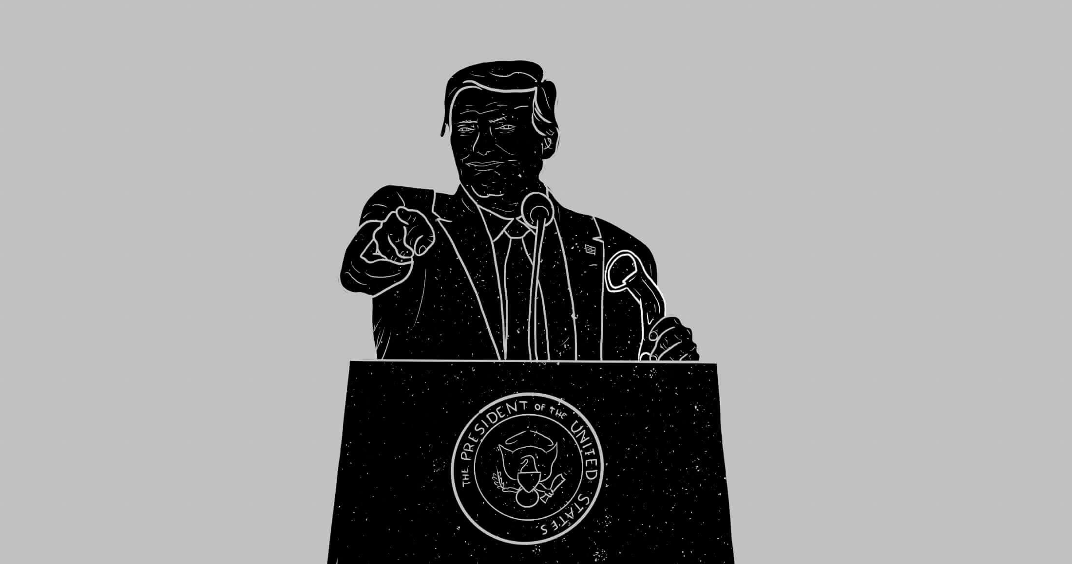 Hoe verging het (de beurzen onder) Trump?