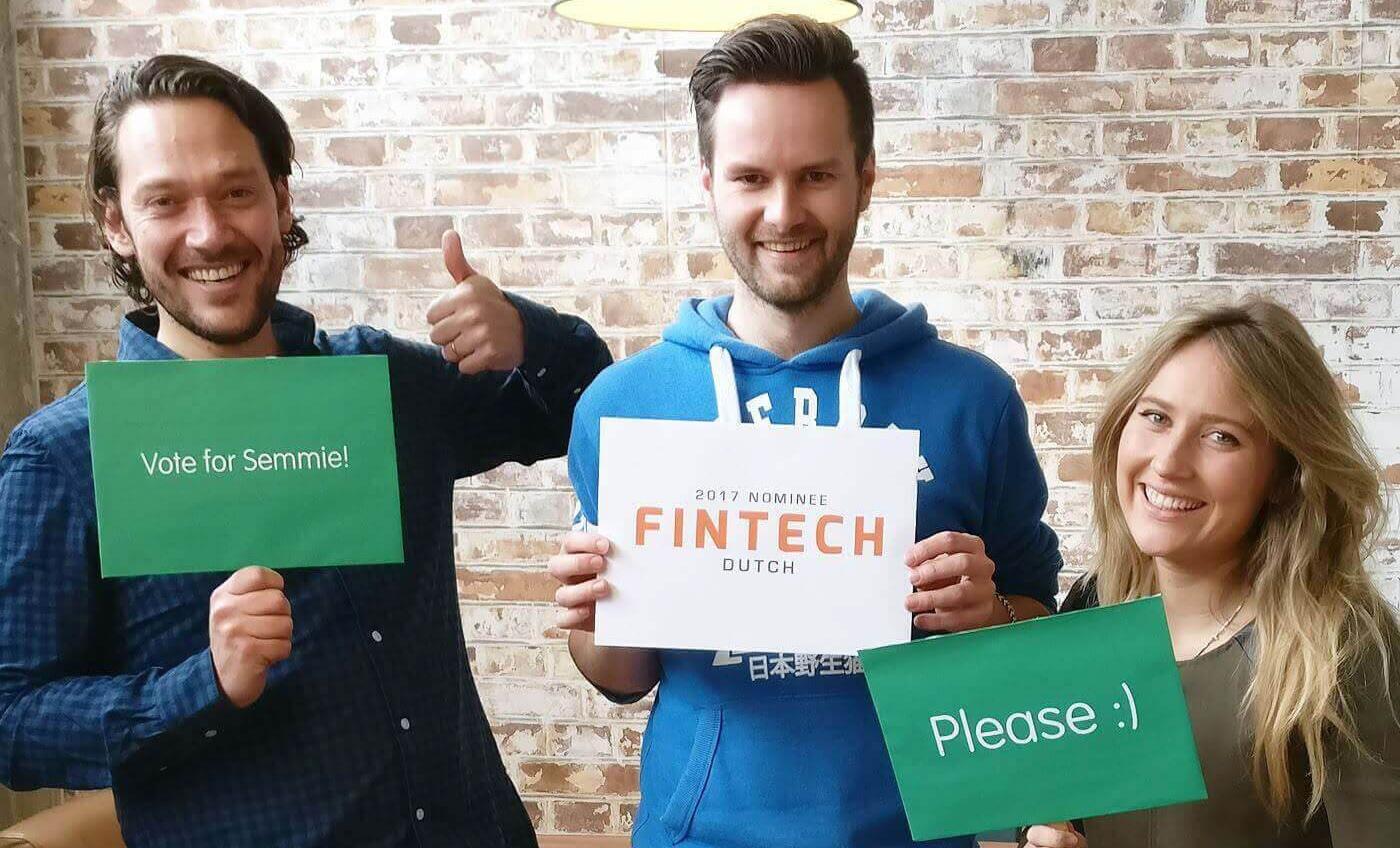 Dutch FinTech awards 2017