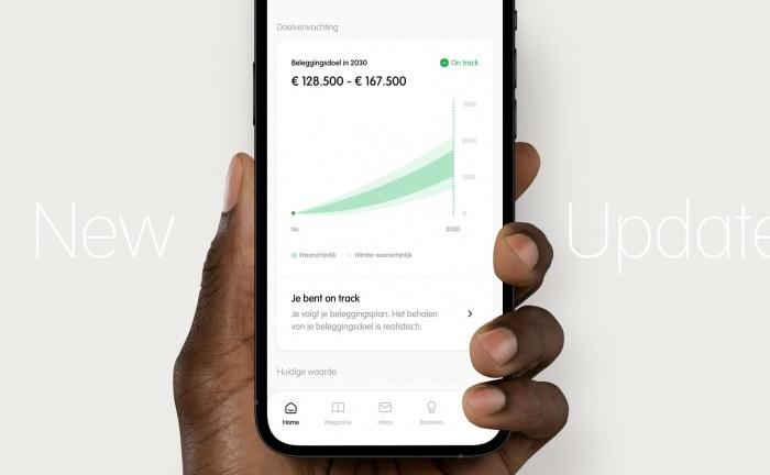 App update: monitoren van je doel