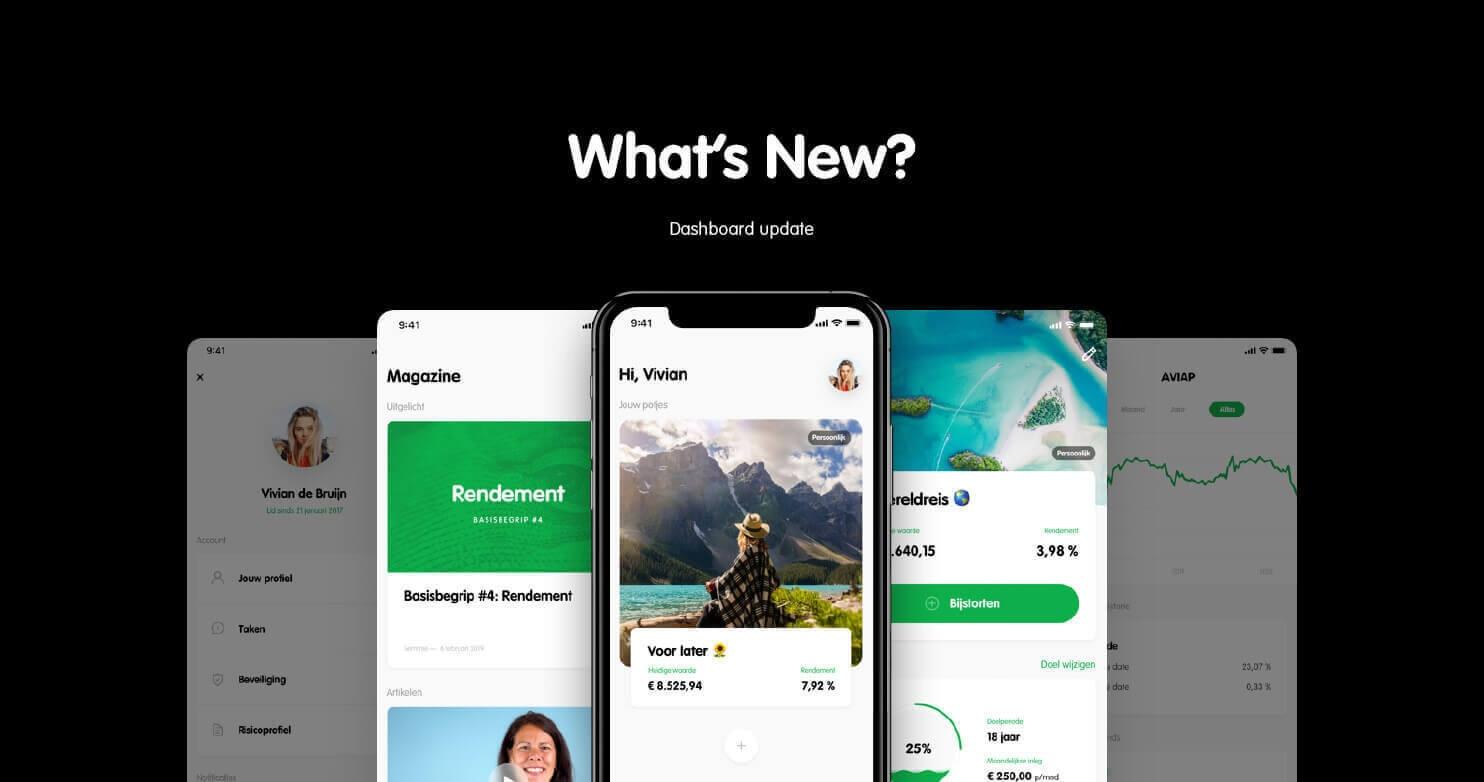 Dashboard update: Wat is er nieuw?